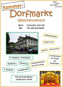 Dorfmarkt-Flyer